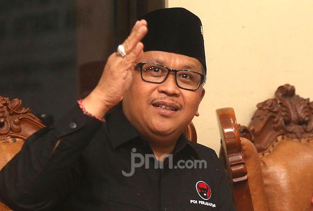 Ucapan Terima Kasih Hasto PDIP untuk Pak JK soal Tak Setuju Perppu KPK - JPNN.com