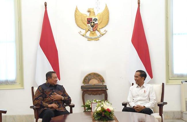 Hamdalah, Presiden Jokowi dan Pak SBY Bertemu Lagi - JPNN.com