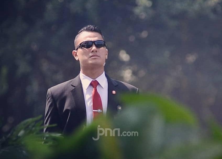 Paspampres Tendang Sunmori Moge di Ring 1, Mayjen Agus Subiyanto Bilang Begini - JPNN.com