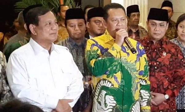 Bamsoet Sebut Pernyataan Pak Prabowo Luar Biasa