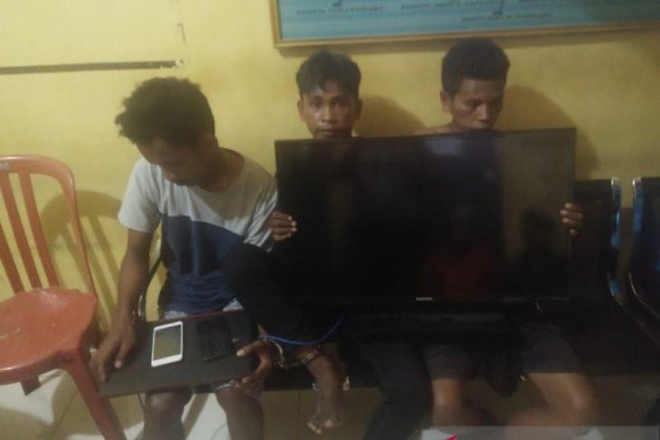 Ini Tampang Komplotan Pencuri di Tenda Pengungsi Korban Gempa - JPNN.com