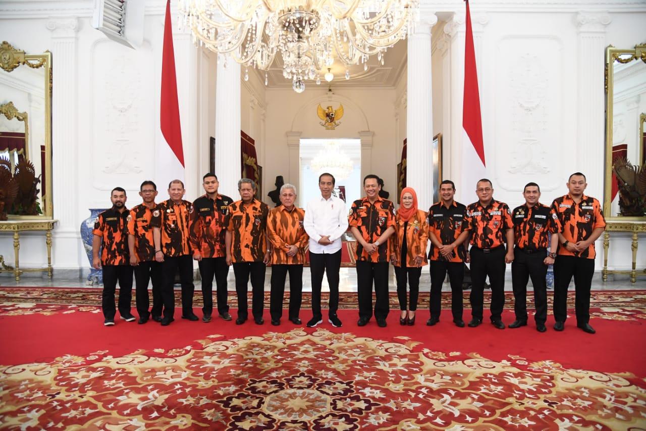 Sapma Pemuda Pancasila Siap Mendukung Pemerintahan Jokowi-Ma'ruf - JPNN.com
