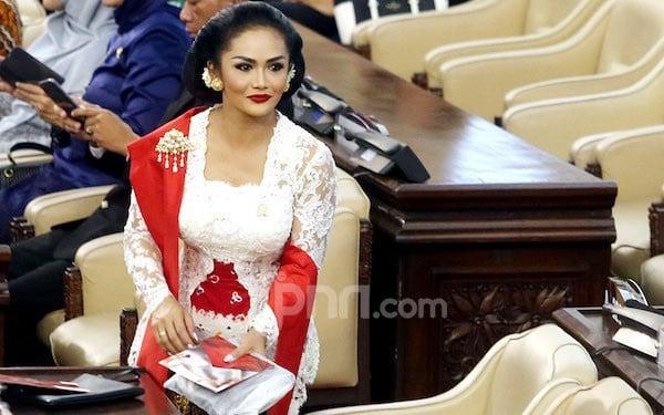 Krisdayanti Ajak Masyarakat Dukung Program Pak Jokowi - JPNN.com