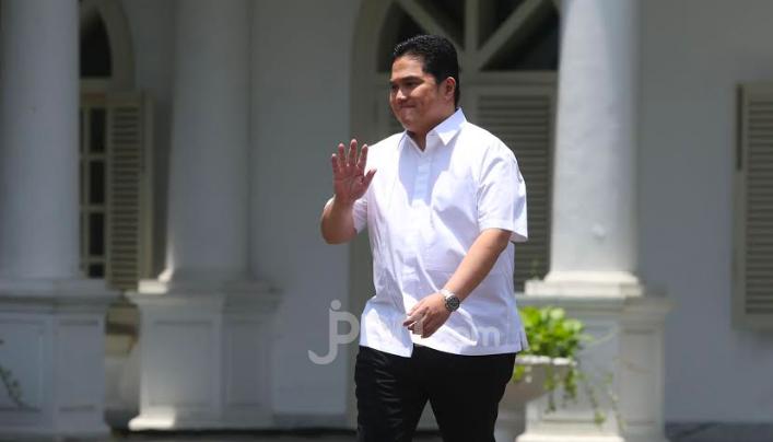 Erick Thohir: Sebelum Dicopot, Lebih Baik Mengundurkan Diri