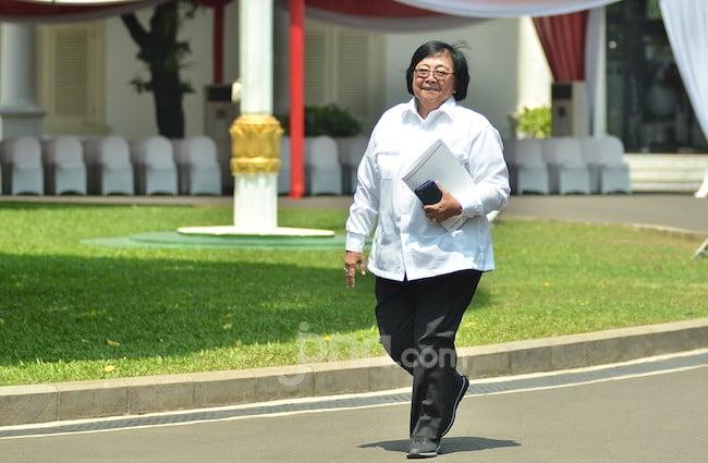 Perintah Khusus Presiden Jokowi untuk Siti Nurbaya soal Hutan di Calon Ibu Kota RI - JPNN.com