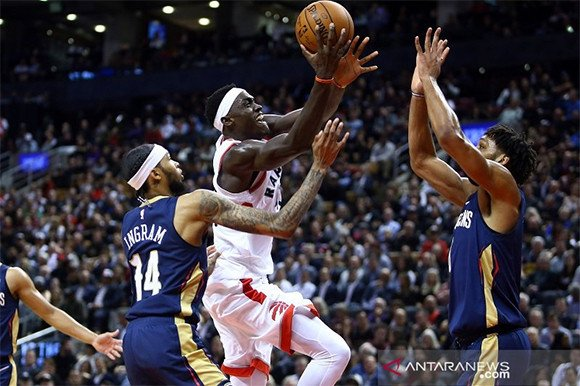 Raptors Kalahkan Pelicans di Gim Pembuka NBA, Clippers Kuasai LA - JPNN.com
