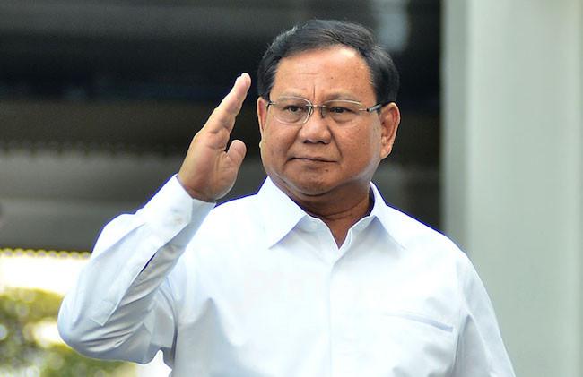 Amanat Menhan Prabowo Saat Melantik Rektor Universitas Pertahanan - JPNN.com