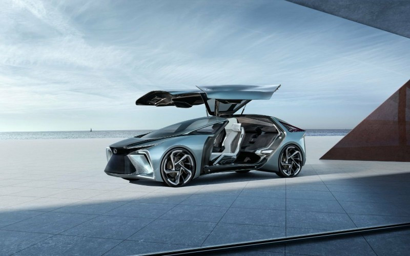 78 Mobil Listrik Lexus Terbaru