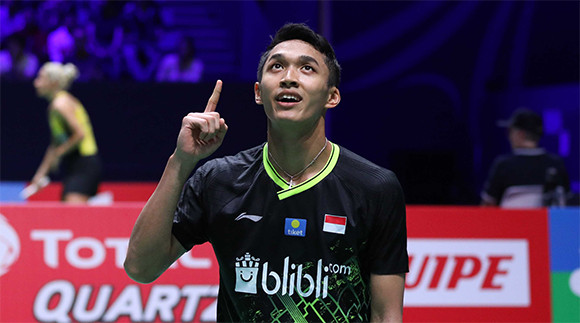8 Tunggal Putra yang Masih Bertahan di Fuzhou China Open 2019 - JPNN.com