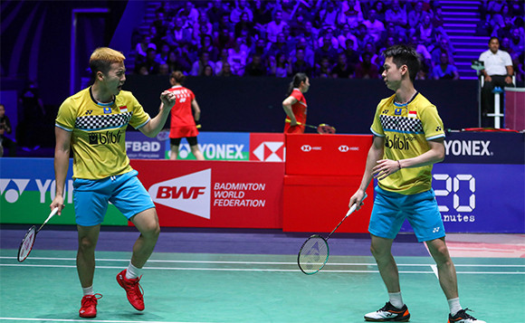 Fuzhou China Open 2019: Setelah 46 Menit, Minions Lolos ke Perempat Final - JPNN.com
