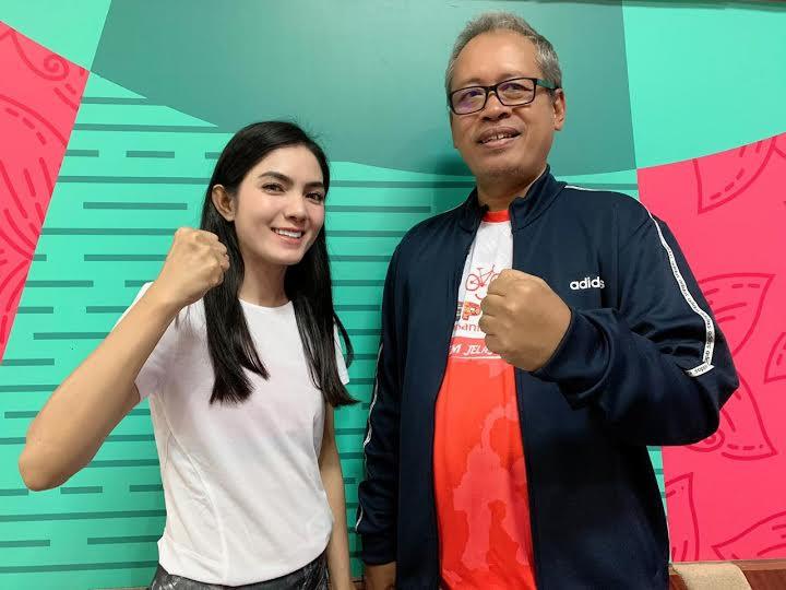 Seperti ini Cara Baby Niken Motivasi Masyarakat untuk Rajin Berolahraga - JPNN.com