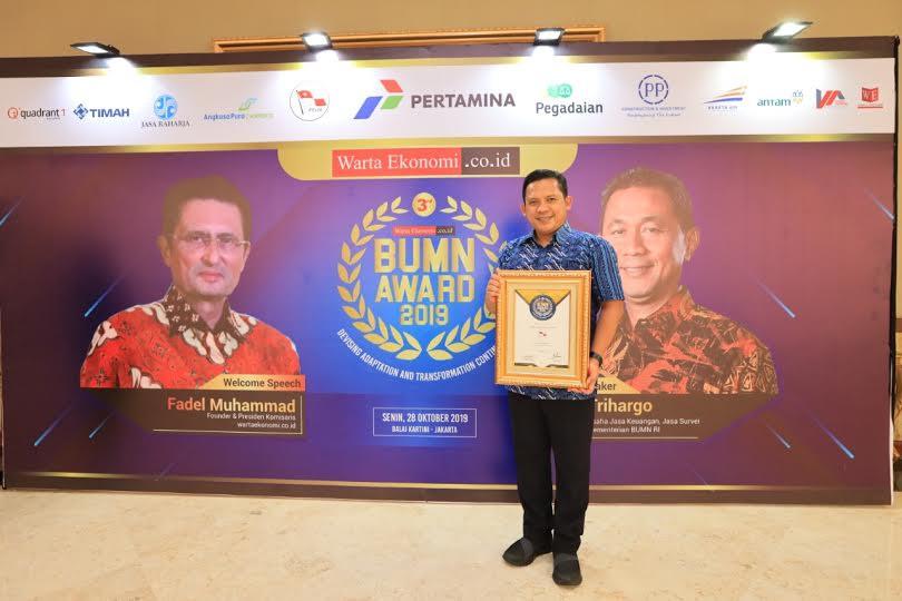 Pelni Sabet Penghargaan Dalam Ajang BUMN Award 2019