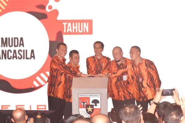 Japto Kembali Terpilih Jadi Ketum Pemuda Pancasila, 234 SC Regwil Jakarta Selatan Ucapkan Selamat - JPNN.com