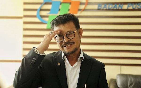 Mentan SYL Ke BPS Sinergikan Data Pertanian - JPNN.com