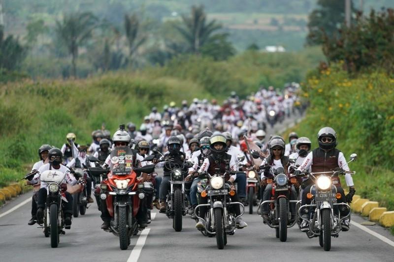 Ribuan Bikers Guyub di Suryanation Motorland Ridescape - JPNN.com