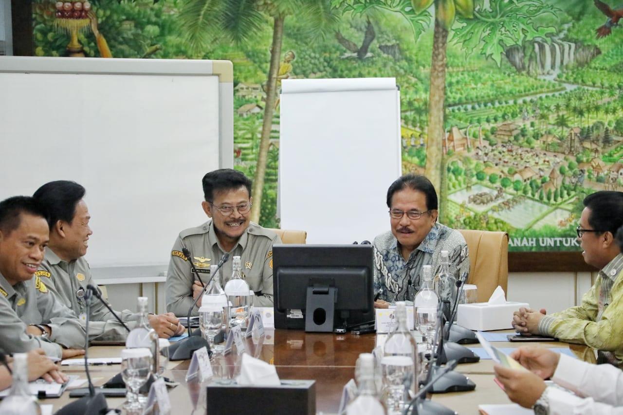 Syahrul Yasin Limpo Bertemu Sofyan Djalil, Ini yang Dibahas - JPNN.com