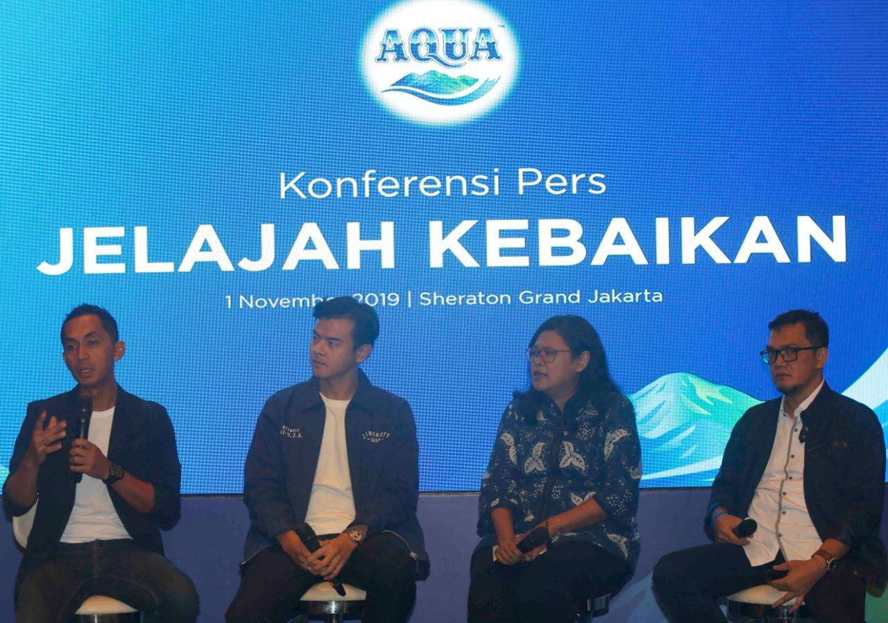 Cara Danone Aqua Gaungkan Pentingnya Air Berkualitas - JPNN.com