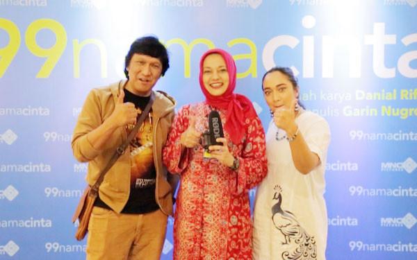 Ikang Fawzi Deg-degan Nonton Film 99 Nama Cinta - JPNN.com