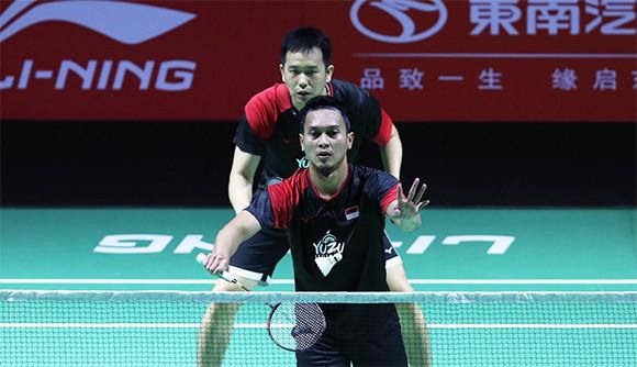 Fuzhou China Open 2019: Pertama Kali Ahsan Main Sampai Skor 30-29 - JPNN.com