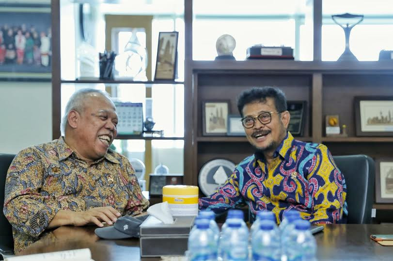 Bertemu Menteri PUPR, Mentan Bahas Dua Hal Ini - JPNN.com