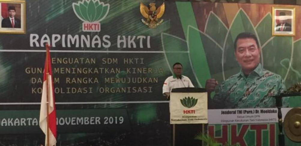 Buka Rapimnas HKTI, OSO: Jangan Bergantung Impor - JPNN.com