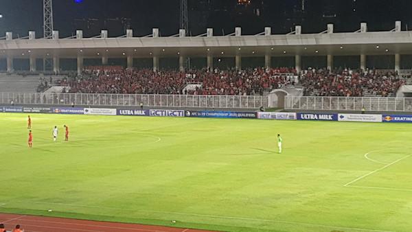 Jumlah Penonton Timnas Indonesia Lawan Korea Utara Meningkat Drastis - JPNN.com
