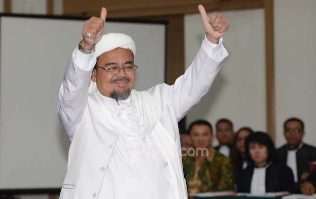 FPI Minta Umat Doakan Habib Rizieq Pulang pada 2020