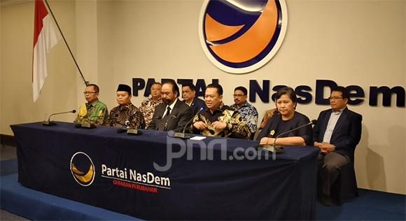 Pimpinan MPR RI Dapat Masukan yang Luar Biasa dari Nasdem - JPNN.com