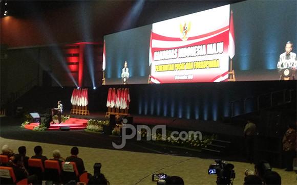 Menhan Prabowo Subianto Tidak Kelihatan di Rakornas Indonesia Maju - JPNN.com