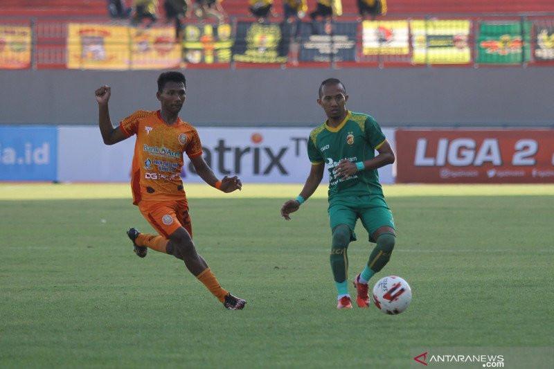 Bermain Imbang Tanpa Gol, Persiraja dan Sriwijaya FC Lolos Semifinal Liga 2 2019