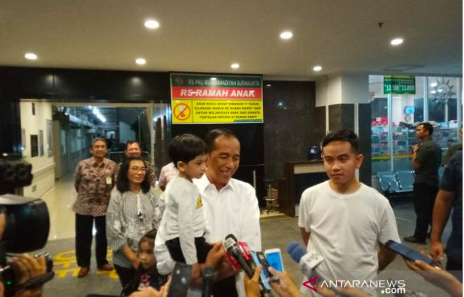 Inilah Arti Nama Cucu Ketiga dari Presiden Jokowi - JPNN.com