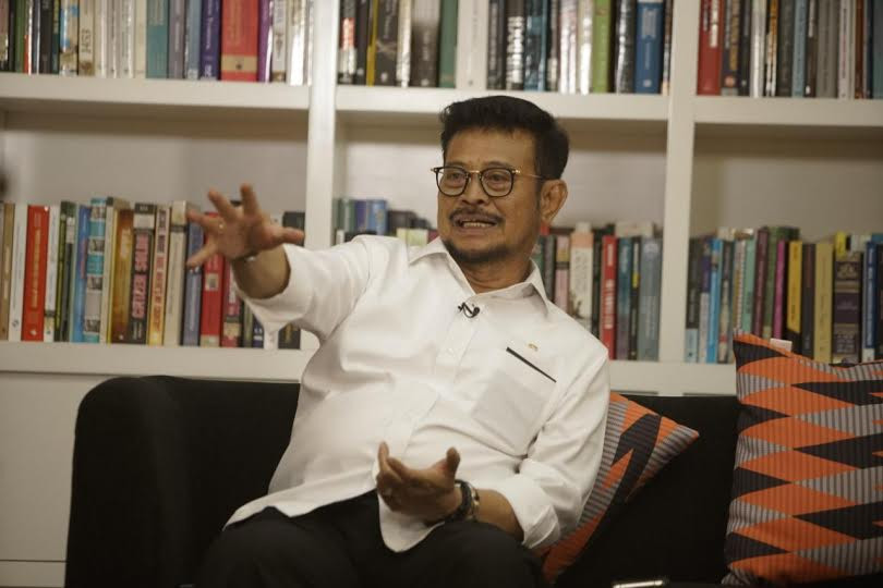 Mentan Syahrul Tak Biarkan Alih Fungsi Lahan - JPNN.com