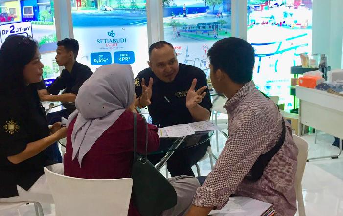3 Hari Mejeng di IPEX JCC, Setiabudi Land Raih Penjualan Positif - JPNN.com