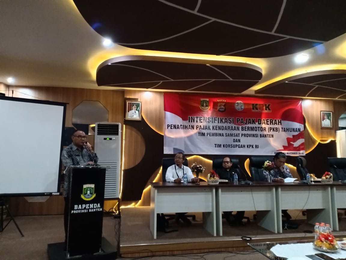 Pemprov Banten Gandeng KPK untuk Menagih Pajak - JPNN.com