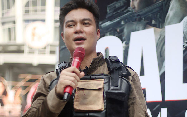 Aksi Baim Wong Membasmi Zombie Bikin Heboh CFD - JPNN.com