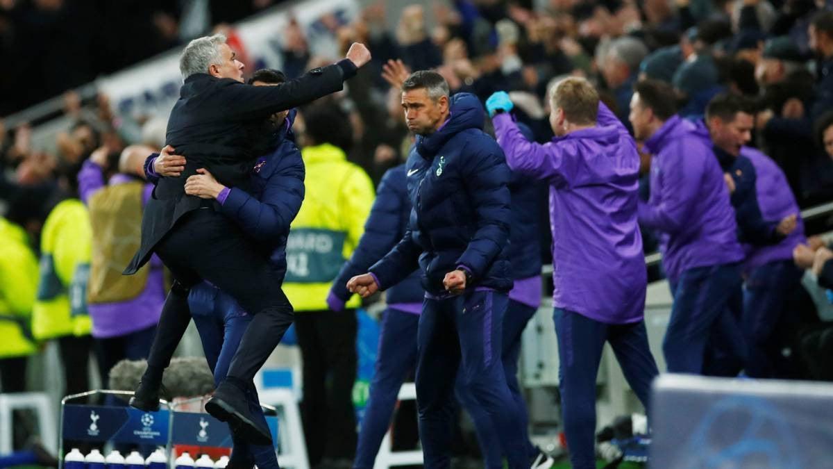 Tottenham Menang Dramatis, Mourinho Minta Maaf ke Eric Dier - JPNN.com