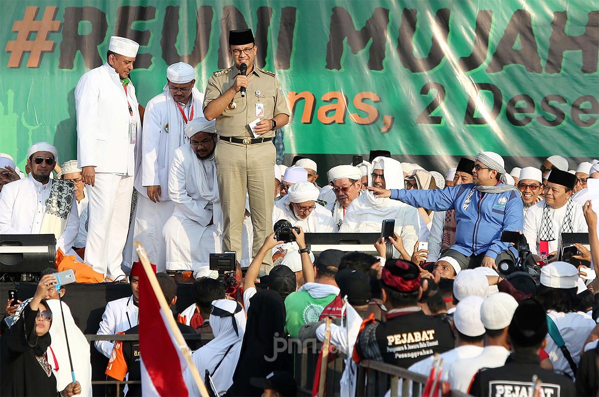 5 Berita Terpopuler: Anies Baswedan Salah Sebut Jumlah Massa Reuni 212 dan Jokowi yang Merasa Dijerumuskan - JPNN.com