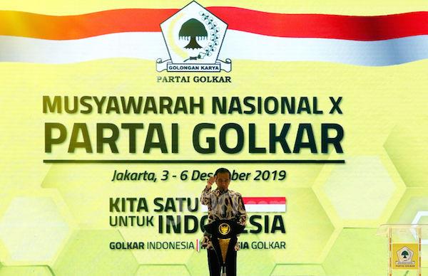 Jokowi Tiba-Tiba Tantang Para Ketua DPD Golkar