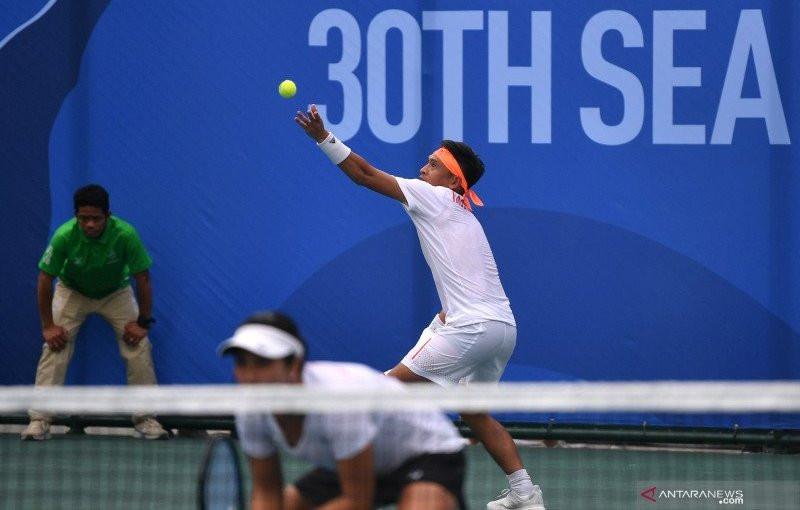 Christopher Rungkat Takjub dengan Venue Tenis PON Papua 2021 - JPNN.com