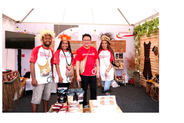 Prudential Indonesia Hadirkan Produk Asli Papua di PRURide Indonesia 2019
