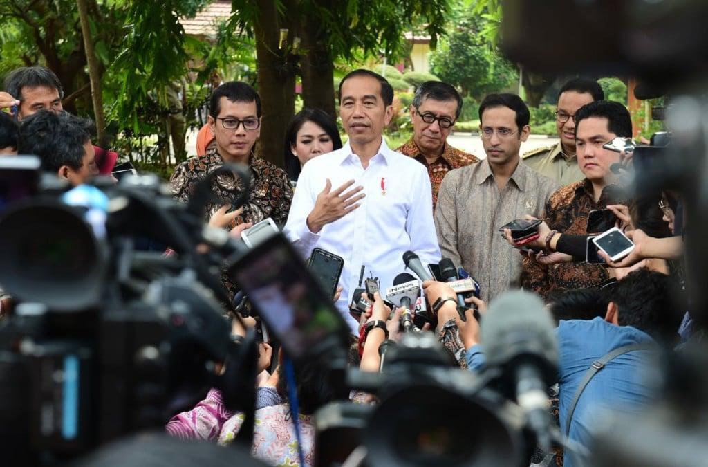 Ditanya Heboh Eksploitasi Pramugari Garuda Indonesia, Pak Jokowi Cuma Bilang Begini