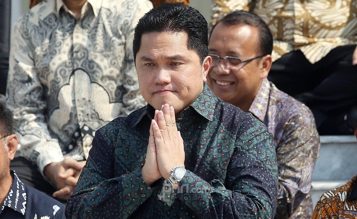 Muncul Spanduk Dukung Erick Thohir untuk Presiden 2024 - JPNN.com