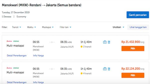 Harga Tiket Pesawat Manokwari Jakarta Mencapai Rp22 Juta Begini Respons Senator Filep Wamafma Jpnn Com
