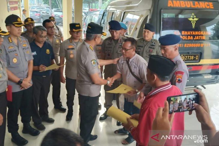 3 Jenazah Peserta Didik Pusdik Brimob Tersambar Petir Diserahkan ke Keluarga - JPNN.com