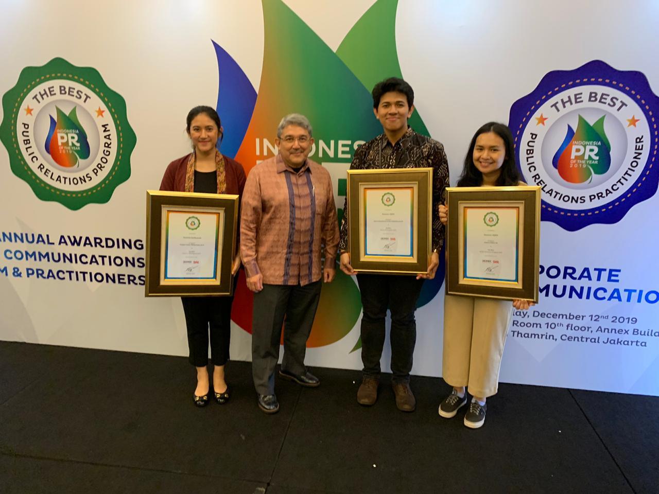 Danone Indonesia Raih 3 Penghargaan Public Relations Program of The Year 2019 - JPNN.com