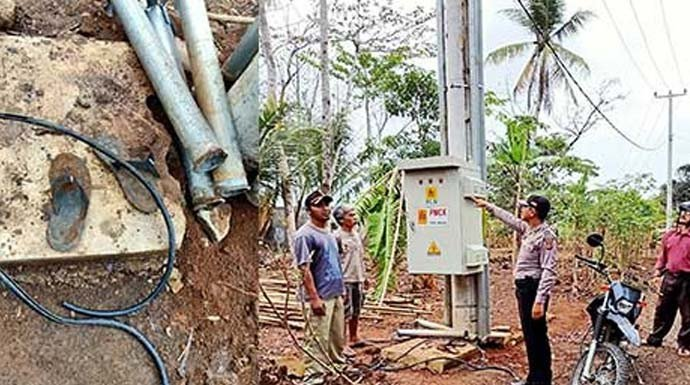 Satu Desa Gelap Gulita Gegara Kabel PLN Digasak Maling - JPNN.com