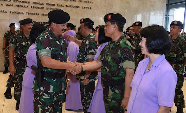 Selamat! 15 Perwira Tinggi TNI Menerima Kenaikan Pangkat, Nih Daftar Namanya