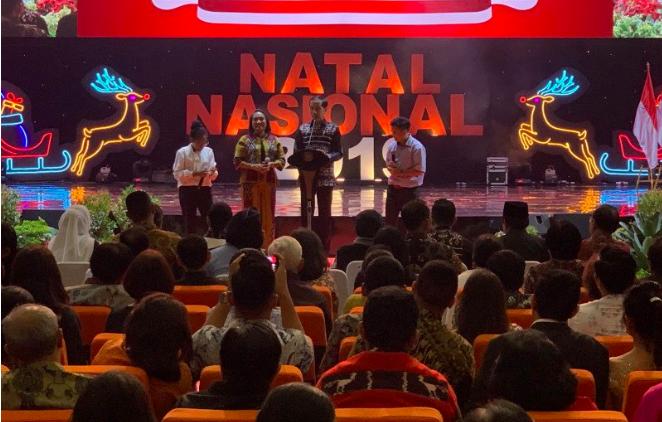 Natal Nasional 2019, Jokowi Cerita Tentang Gus Dur dan Romo Mangun