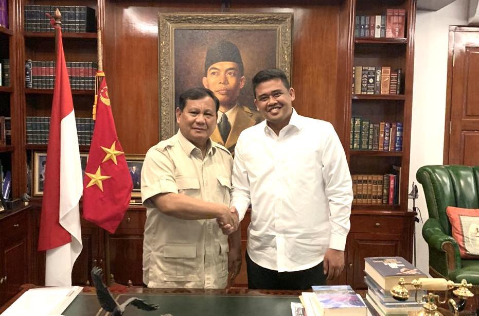 Cerita Dasco tentang Pertemuan Prabowo dengan Bobby Menantu Jokowi