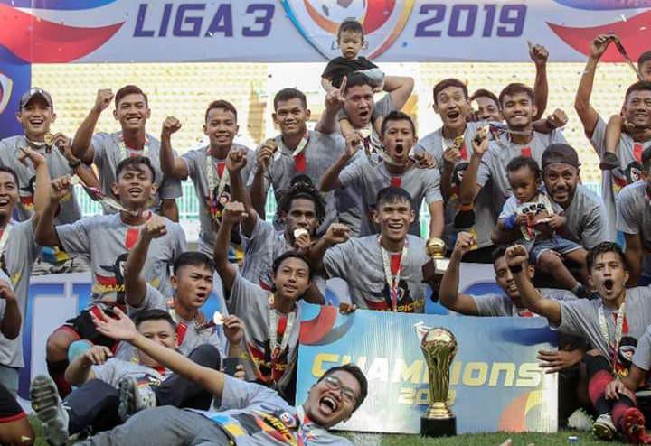 Persijap Juara Liga 3 2019 Usai Taklukkan Tim Polesan Robby Darwis - JPNN.com